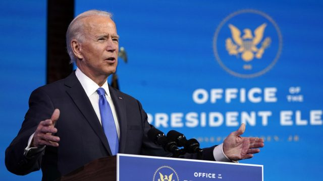 Electoral College makes Joe Biden Win Official