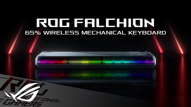 ROG Falchion, wireless mechanical keyboard by Asus launched at CES 2021