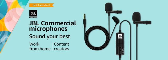 JBL Commercial microphone launched for content creators