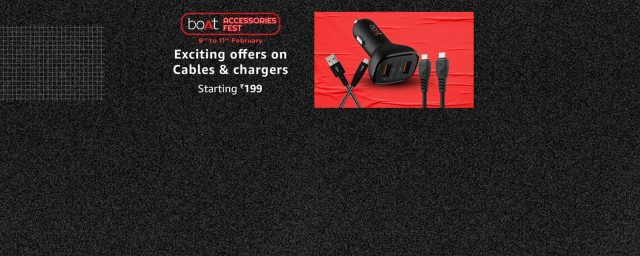 boAt Accessories Fest is here on Amazon India