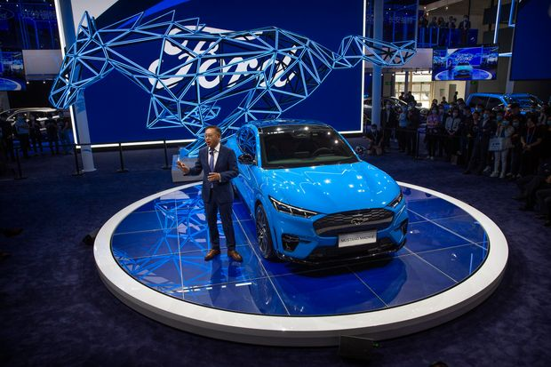 Ford all set to begin its production of the Mustang Mach-E EV in China