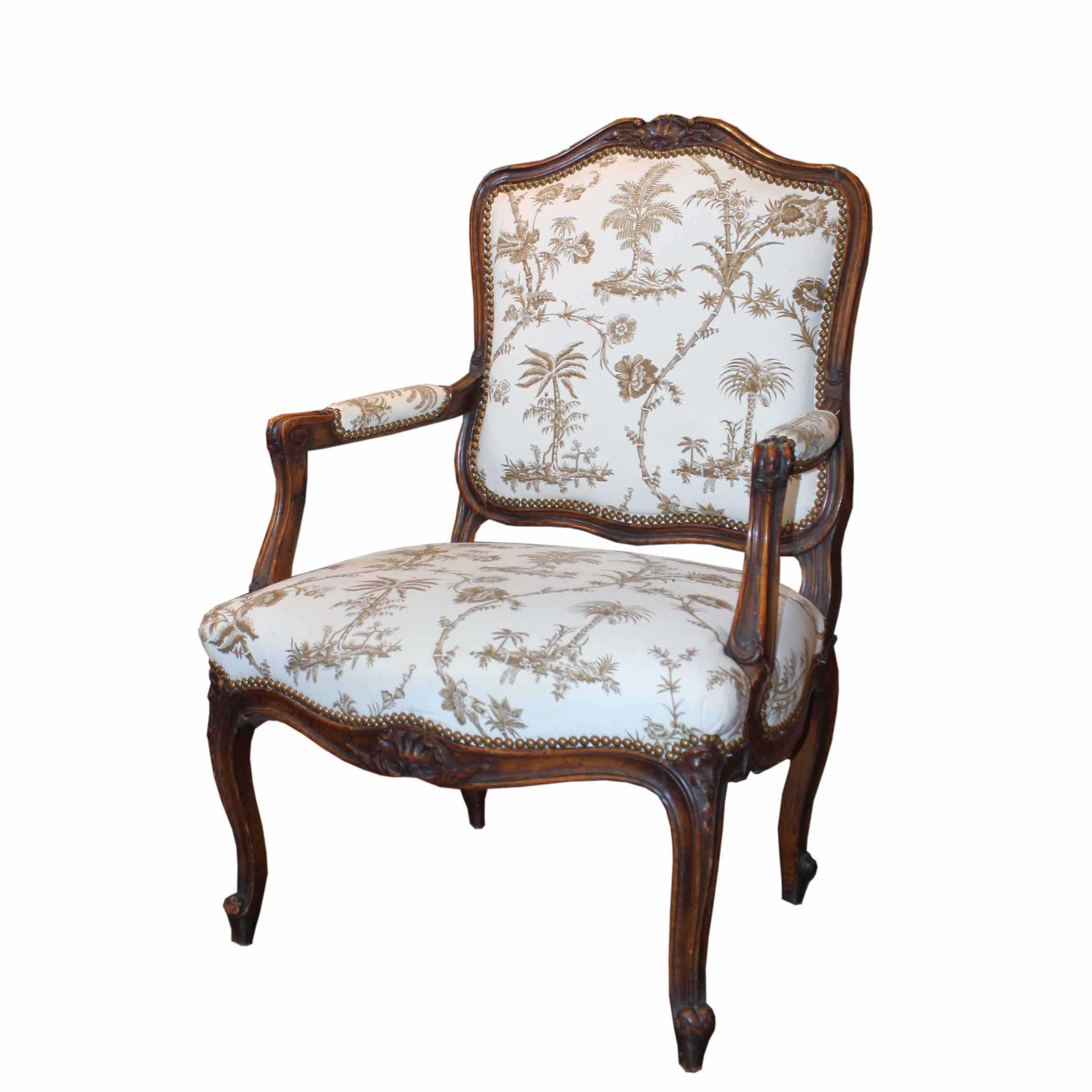 louis xv chair butterfly covers auckland 19th century french armchair foxglove antiques