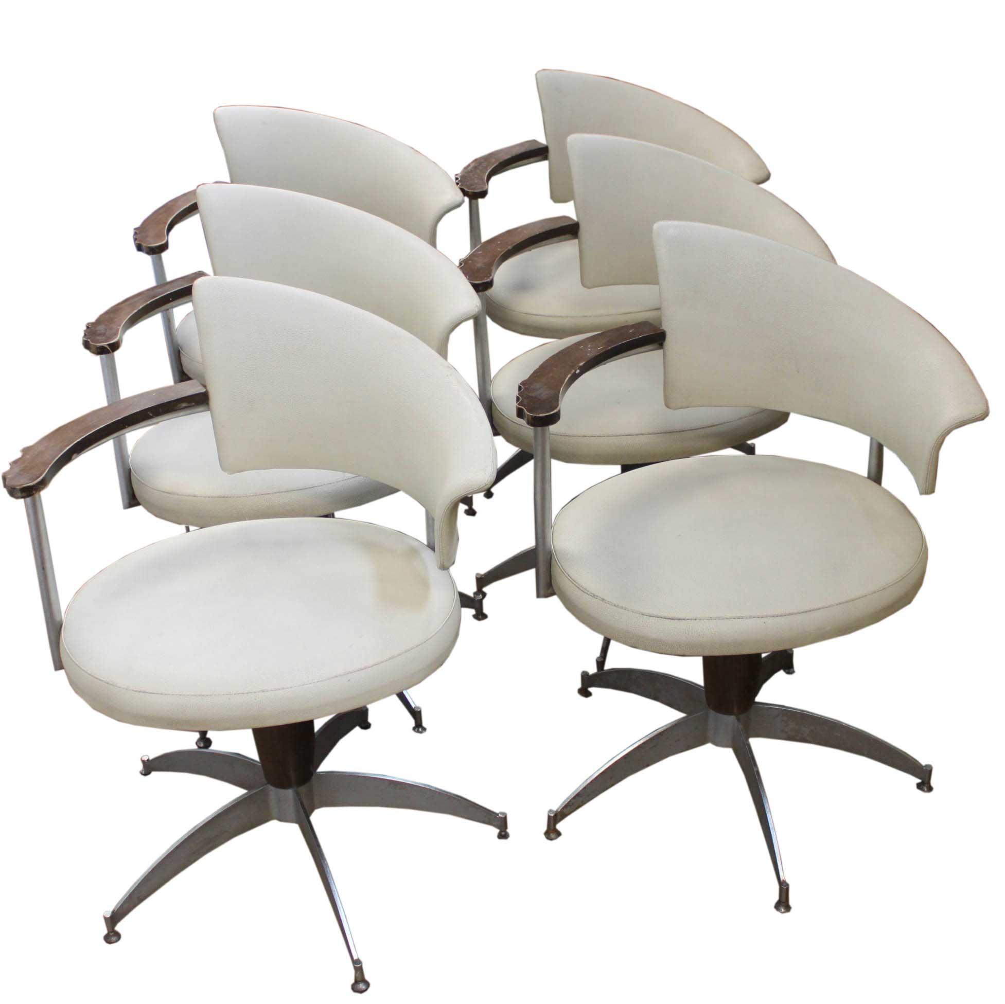 swivel chair price philippines cedar adirondack chairs canada set of four italian cream and metal