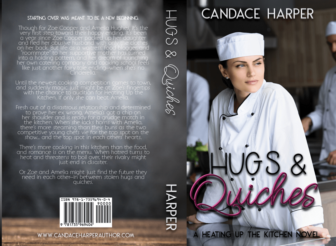 Hugs and Quiches Print Cover