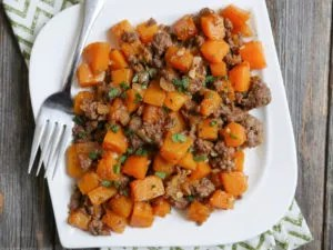 Ground Beef and Butternut Squash