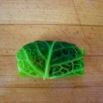 Cabbage Wrap Neatly Folded
