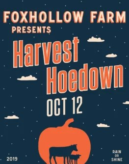 Harvest Hoedown October 12