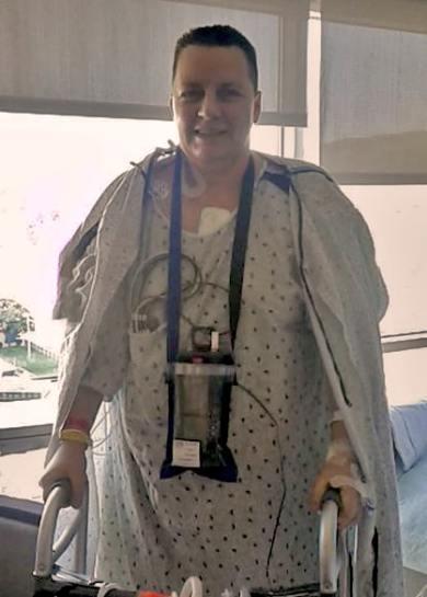 Audrey After Surgery