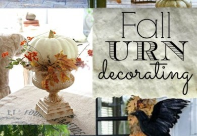 Decorating With Urns {christmas Edition} Fox Hollow Cottage
