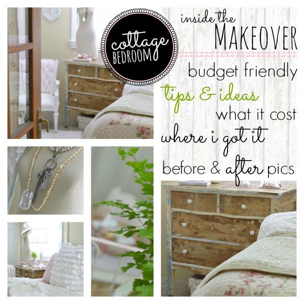 Budget Bedroom Makeover Breakdown  Fox Hollow Cottage