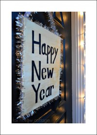 New Year's Eve Diy Decorating Ideas - Fox Hollow Cottage