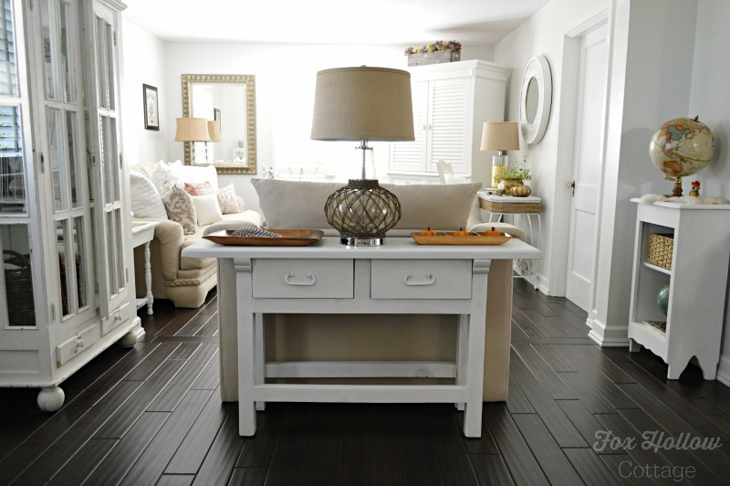 Cozy Cottage Home Decorating For Fall Fox Hollow Cottage