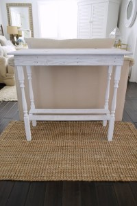 DIY White Washed Wood Table - Fox Hollow Cottage