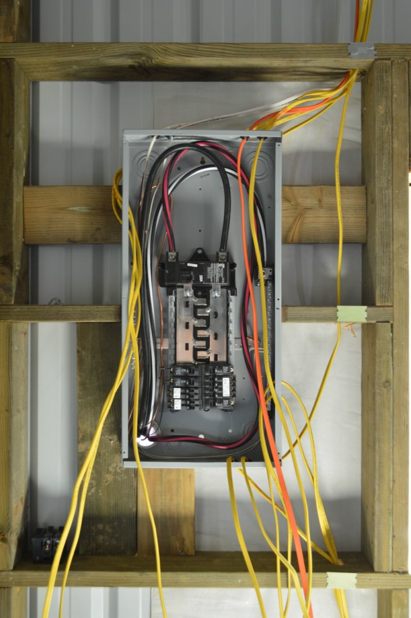 Steel Building Wiring Diagram