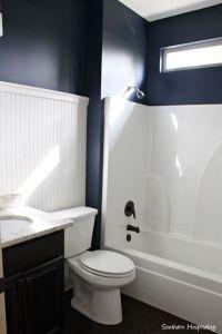 Navy Bathroom Decorating Ideas