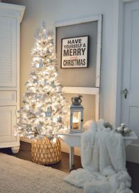 Cozy Cottage Christmas Living Room - Fox Hollow Cottage