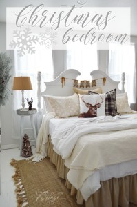 Christmas Guest Bedroom at The Little Cottage - Fox Hollow ...