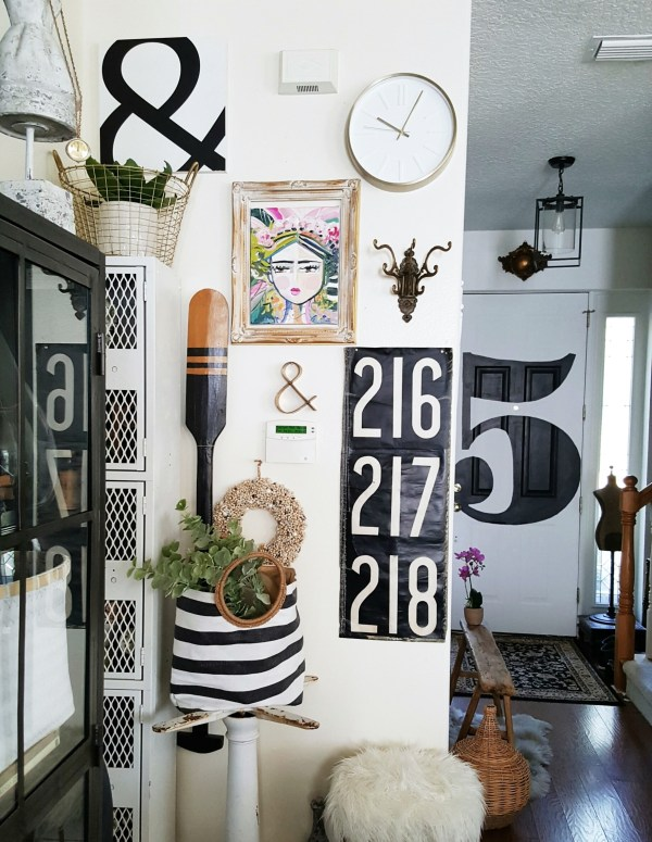 Eclectic Collected Vintage Modern Home Tour - Fox Hollow