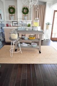 Farmhouse Kitchen Island Cart