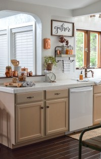 Fall Vintage Kitchen Decorating