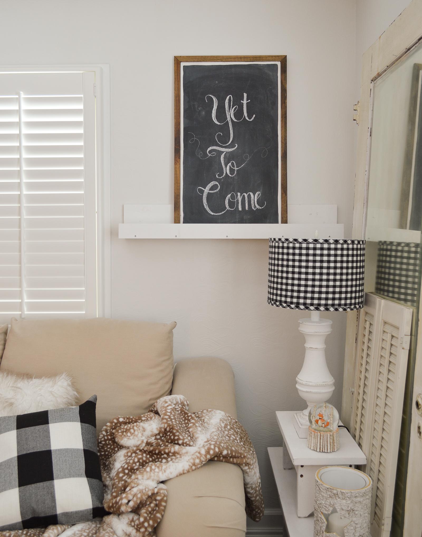 Cozy Cottage Winter Living Room Decorating Ideas Fox