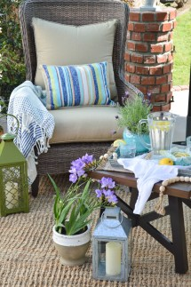 Outdoor Entertaining Furniture And Decorating Ideas - Fox