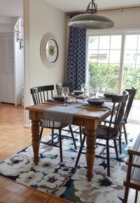 Small Space Dining Room Decorating Ideas - Fox Hollow Cottage