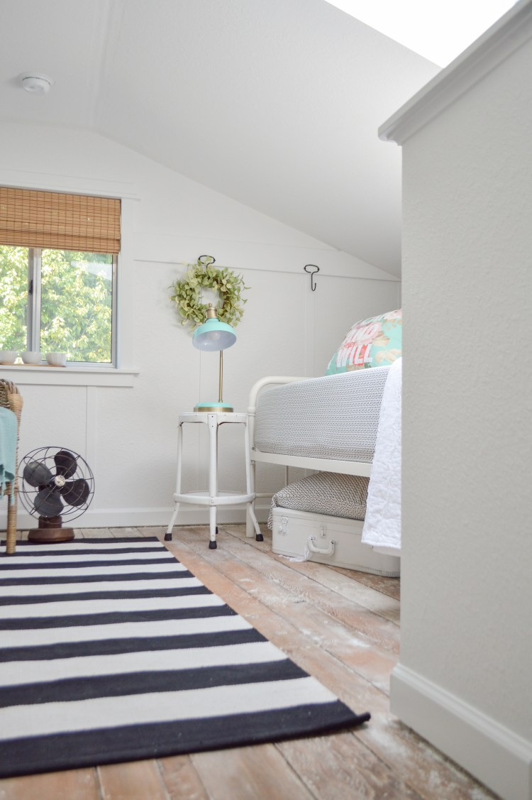 Loft Guest Bedroom Makeover Reveal Fox Hollow Cottage