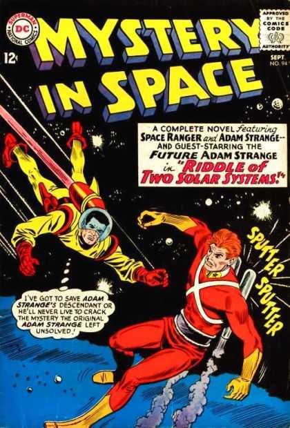 Clash of the Spacemen!