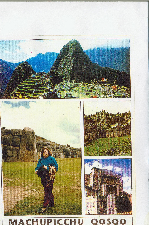 My Mother at Machu Pichu