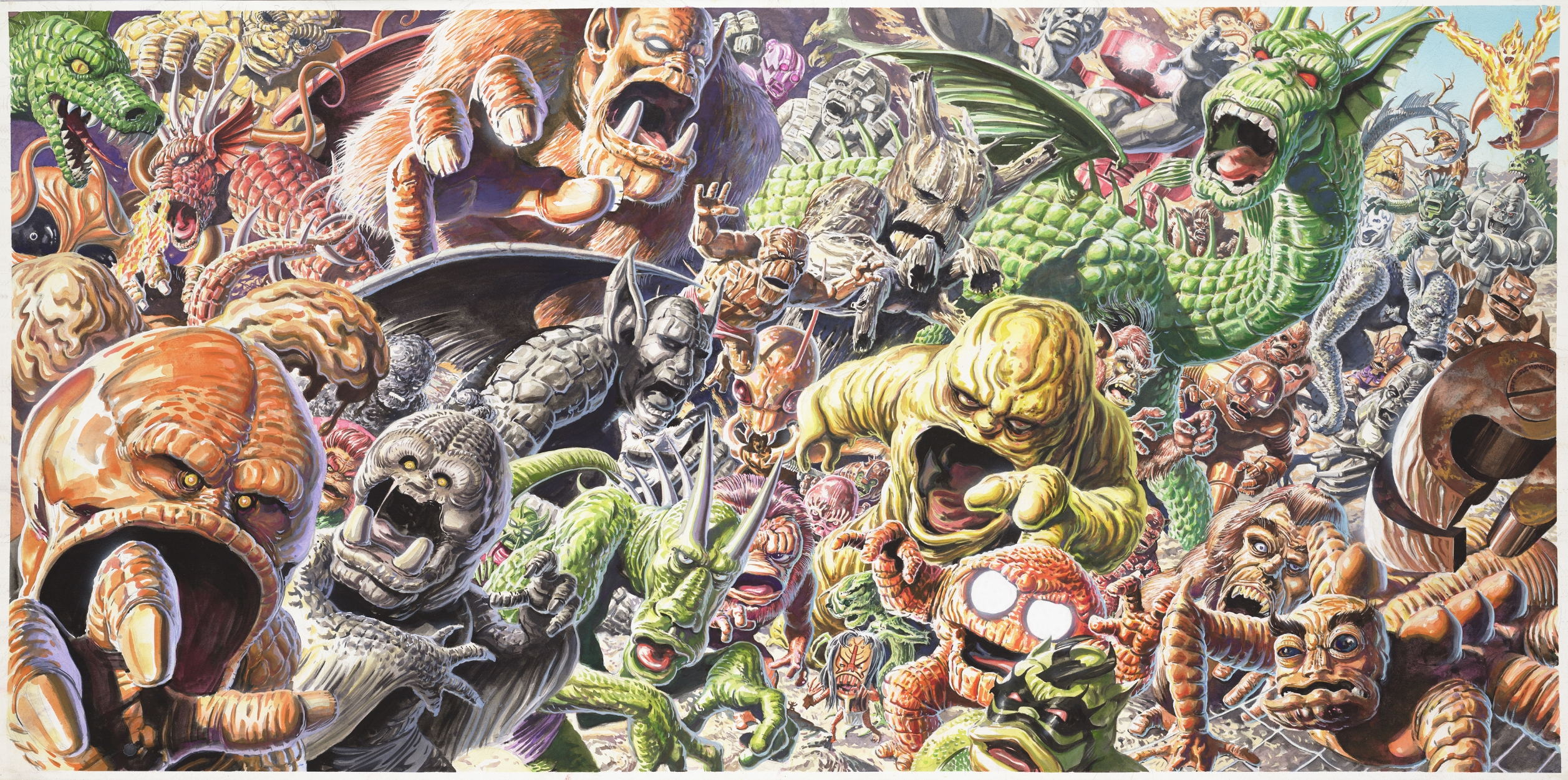 Dc Vs Marvel Big Monsters