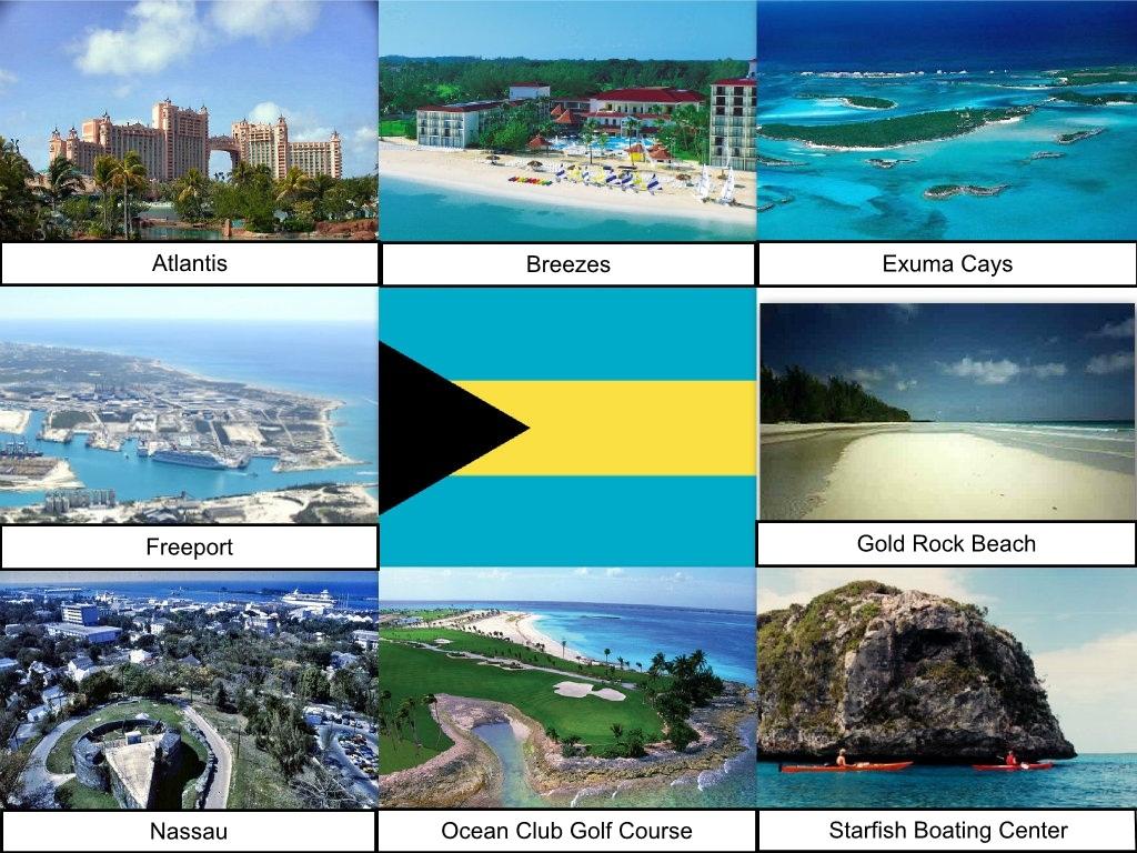Bahamas Collage