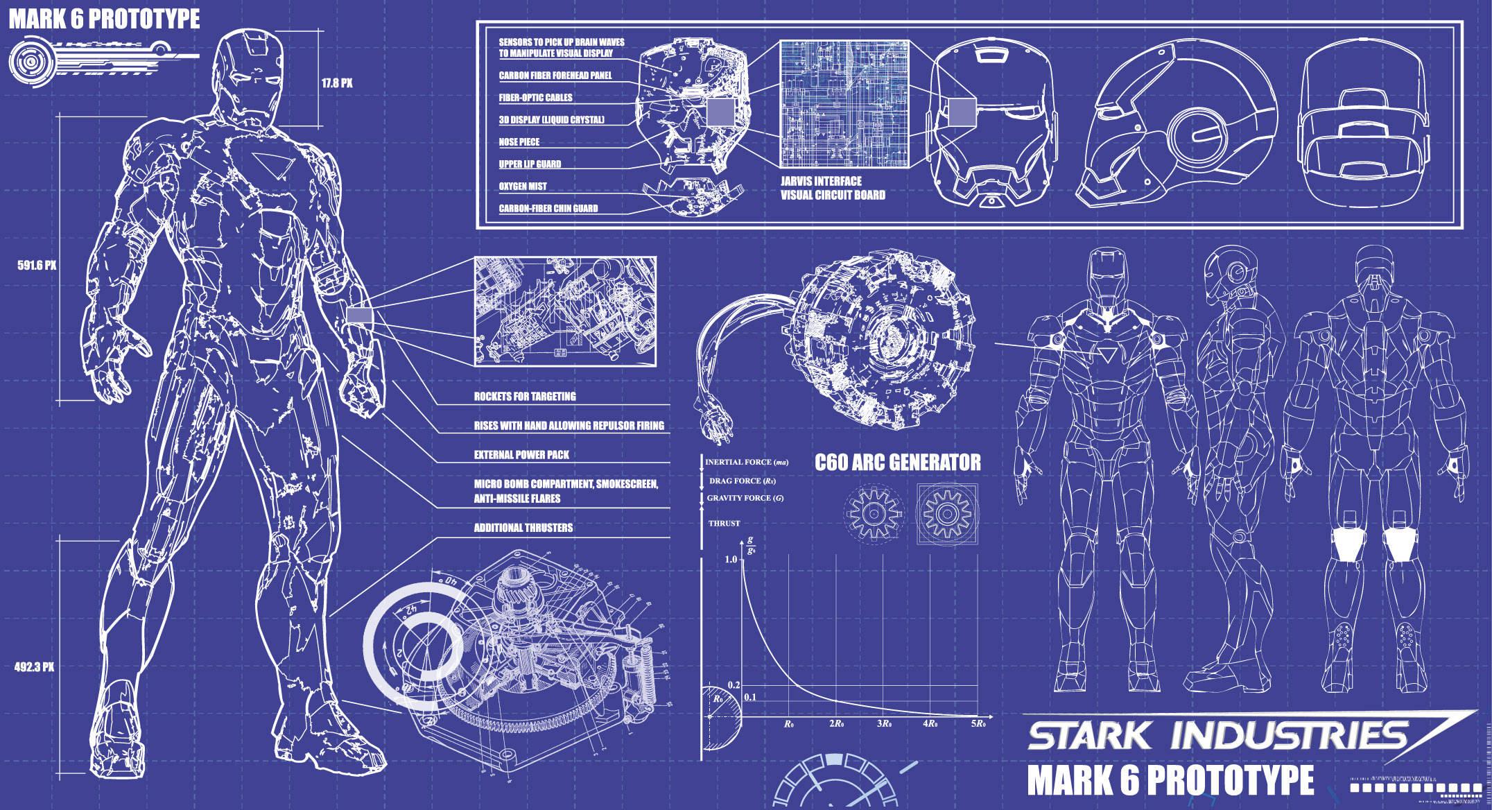 Iron Man Design Project