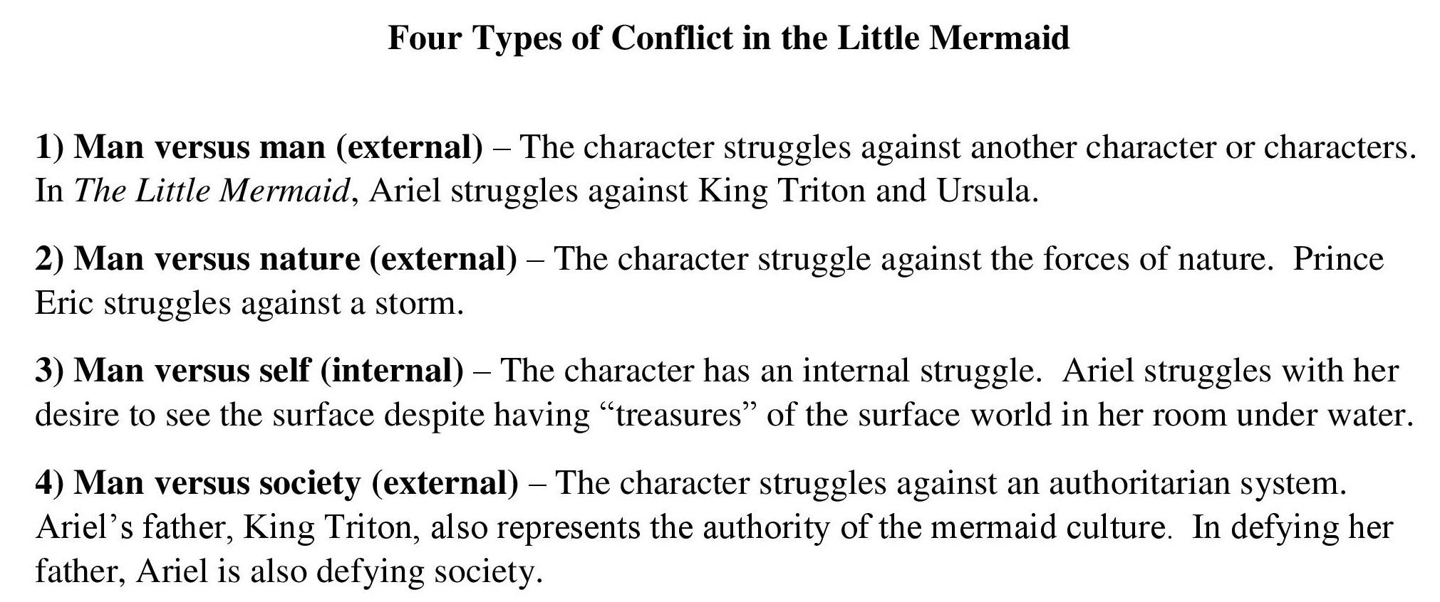 Conflict Literature