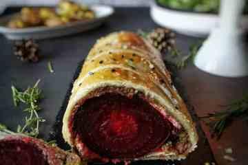 Vegetarisch hoofdgerecht kerst
