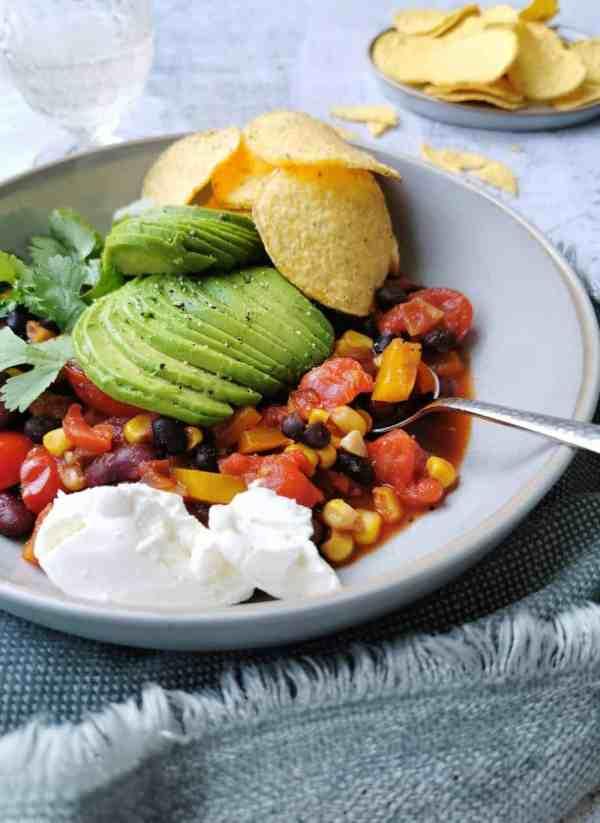 Vegetarische chili con carne