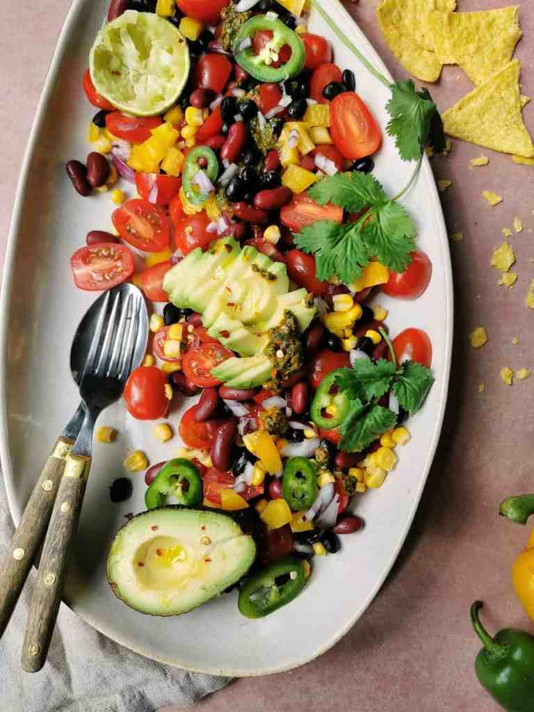 Texmex rauwkost salade