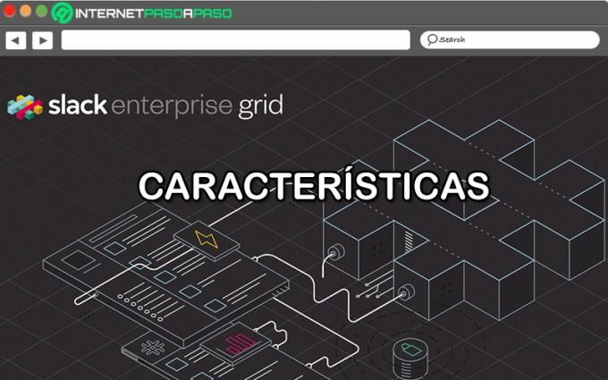 ¿Cuáles son las características de la suscripción Enterprise Grid de Slack?