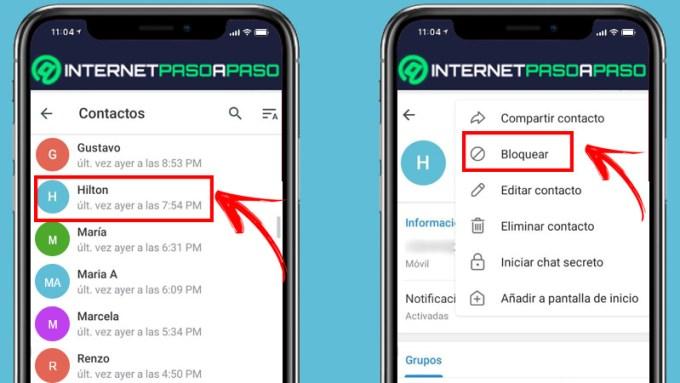 Aprenda paso a paso cómo bloquear y desbloquear usuarios de su cuenta de Telegram rápida y fácilmente