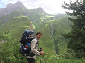 Carried away in the Alps