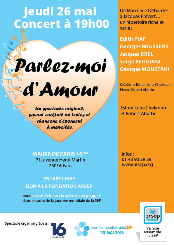 Chanson D Amour Française 2016 : chanson, amour, française, Parlez-moi, D'amour, Concert, Chanson, Française, Paris16, Paris, Foxoo
