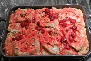 Rhubarb rolls