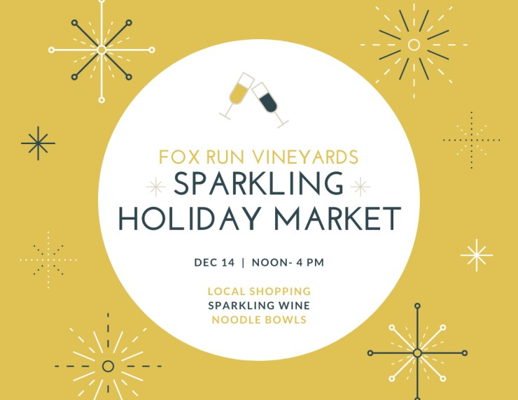 Poster for Fox Run's Holiday Market