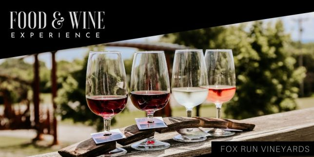 Food & Wine Experience event at Fox Run