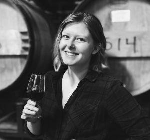 Assistant Winemaker, Ashley McCaffrey at Fox Run Vineyards