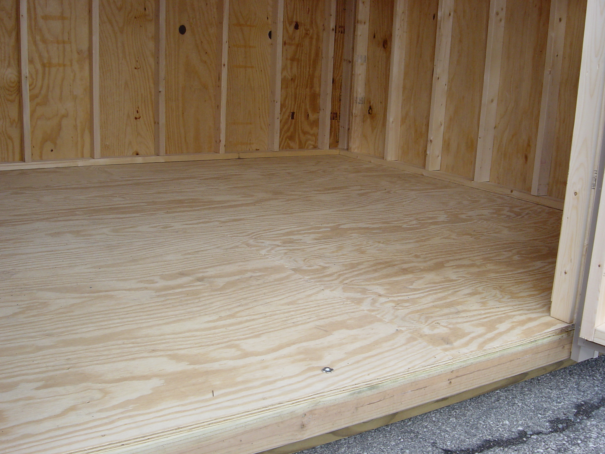 Exterior Aluminum Clad Plywood Panels : Design specs for a shed foxscountrysheds s