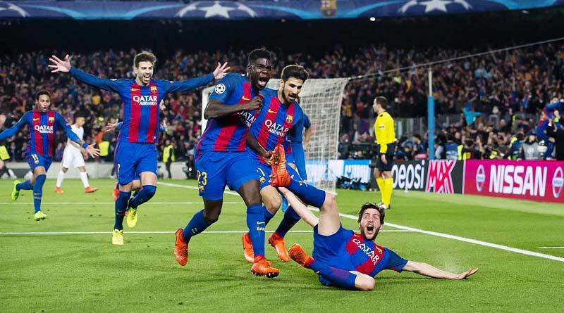 Barcelona complete the greatest comeback in Soccer history