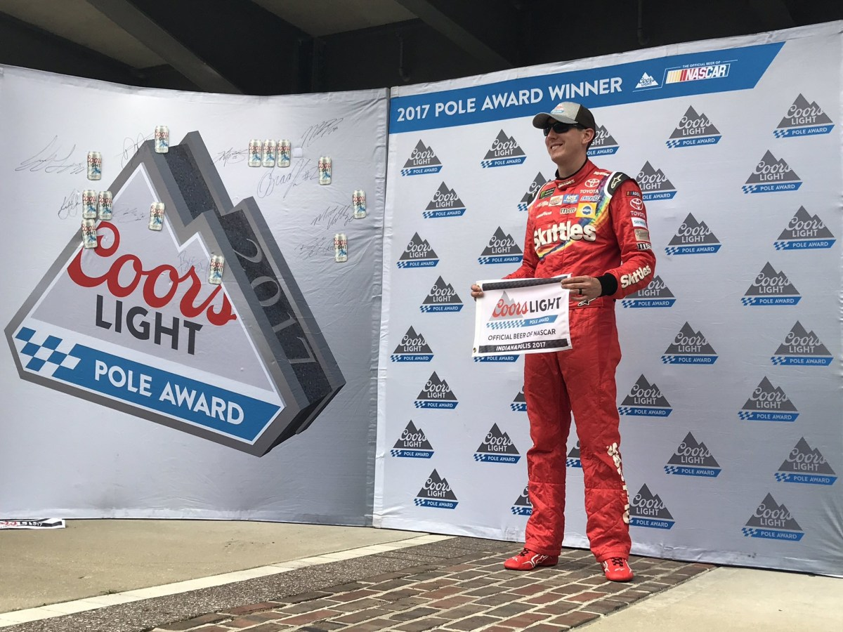 Kyle Busch Wins Pole For Brickyard 400
