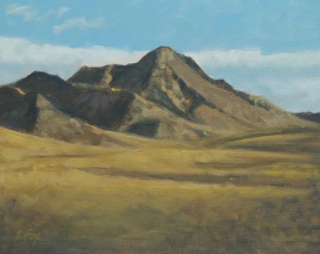 Mountain at Khomiin Tal, Mongolia