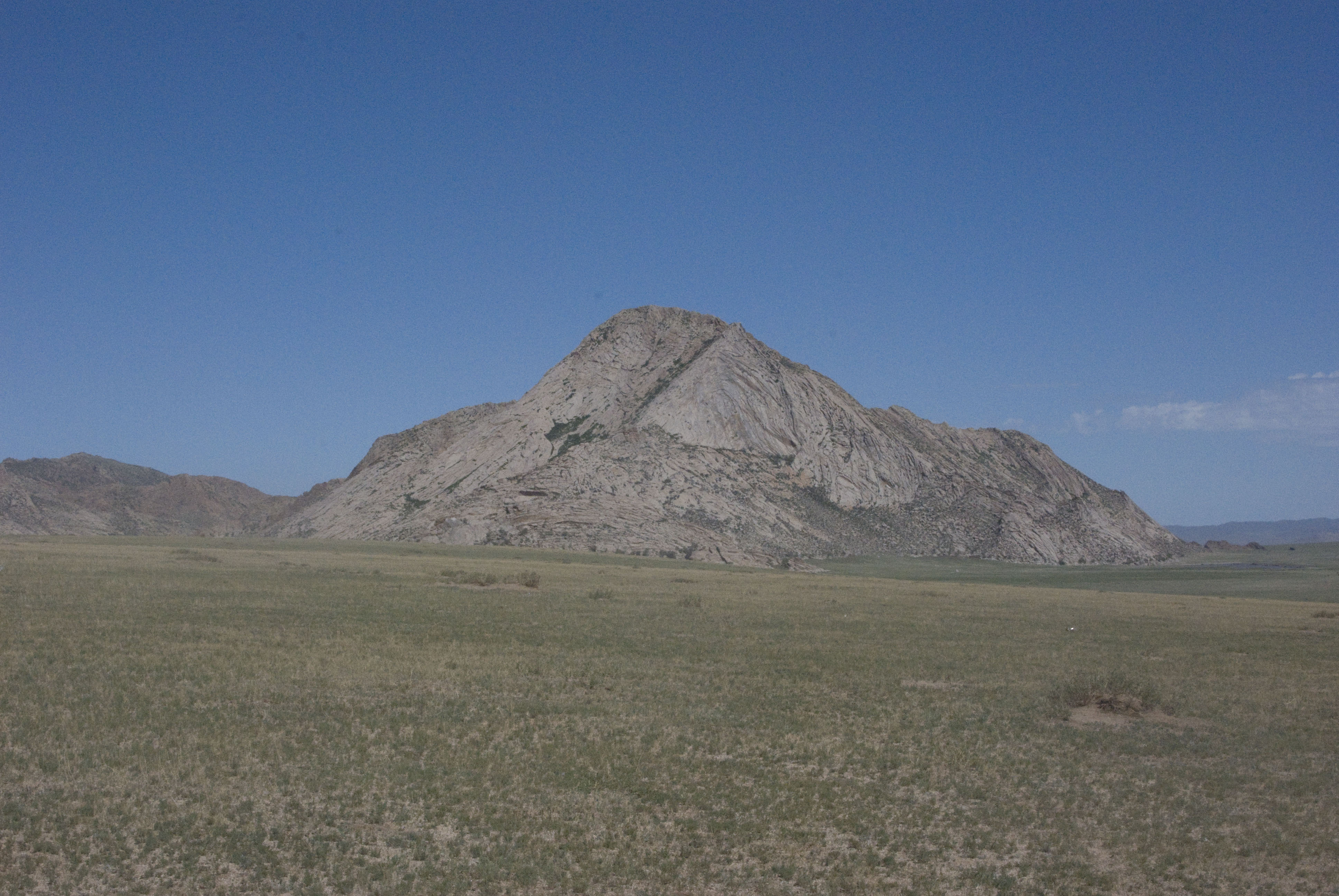 Tahilgat Hairhan, the moutain we saw on the way south